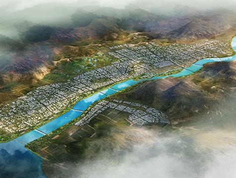 藏族圣河-拉萨河景观改造工程
