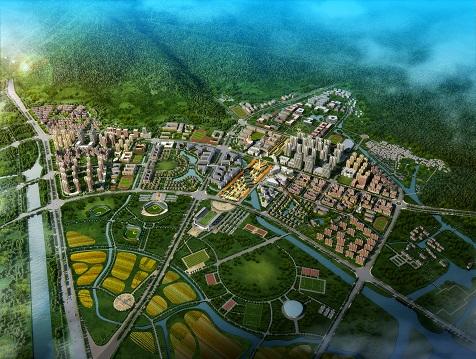 温州肯恩小镇概念规划与城市设计